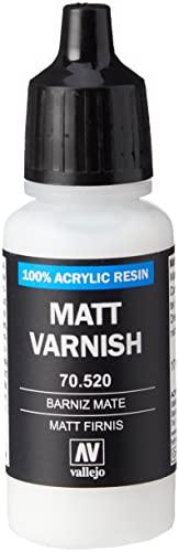 Vallejo Matt Model Color Varnish, 17ml
