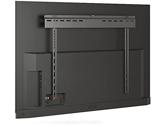 Soporte para TV Soporte fijo de montaje en pared para TV de perfil bajo para la mayoría de televisores de pantalla plana curva de 37-90 pulgadas Soporte de montaje para TV ultradelgado de acero, sopor