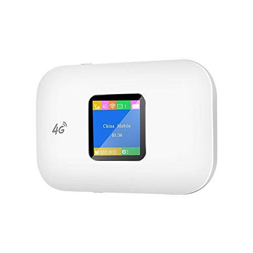 SCZZ 4G Wireless LAN Router, Mini-Router Tragbare Drahtlose Tasche Wi-Fi Mobilen Zugang Auto Router Mit SIM-Karten-Slot, Für Automobilhome