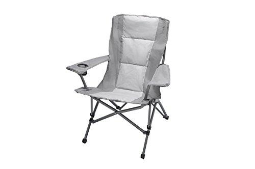 Relags Travelchair Lodge Comfort ST Silber/grau 2019 Campingstuhl