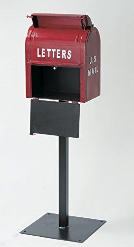 セトラクト郵便ポストアメリカンヴィンテージU.S.MAILBOX(レッド)高さ:約110(cm)SI-2855-RD
