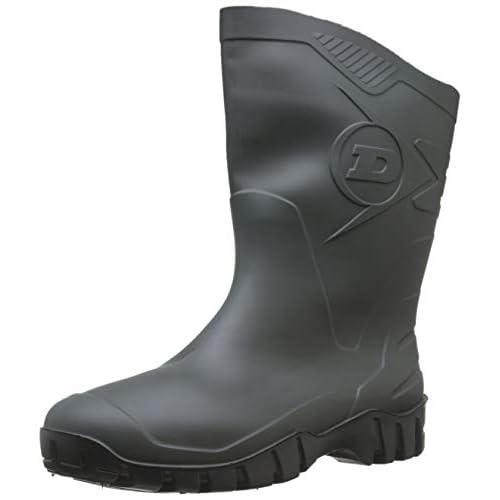 Dunlop K580011 Pvc Kuitlaars Groen 43, Stivali di gomma da lavoro Unisex-Adulto, Verde, EU UK 9 | US 10