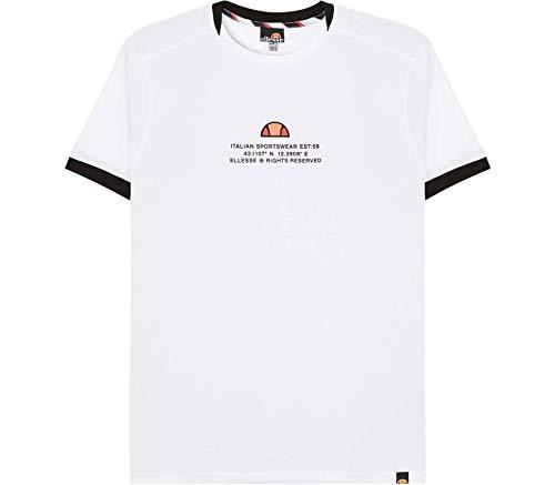 ellesse Herren Backspin T-Shirt XXL weiß