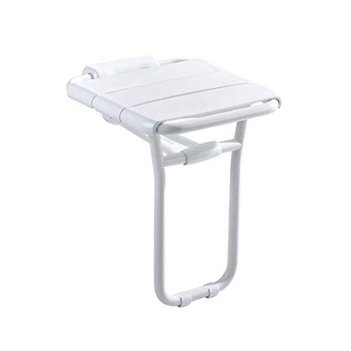 YFF ~ Quotidien Nécessités Tabourets pliables de douche de mur Tabouret de siège de douche de mur d'ABS Tabouret pliant de changement de tabouret pour des personnes âgées / handicapées Tabouret