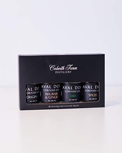 Colwith Farm Distillery, Miniature Gift Pack, Gin, Gluten Free, 42% ABV, 4 x 50ml