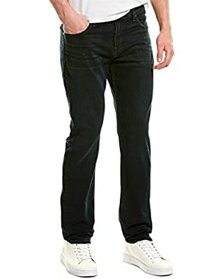 7 For All Mankind Mens Slimmy Verd Slim Leg, 33, Blue by 7 For All Mankind