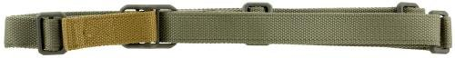 Blue Force Gear Padded Vickers Combat Applications Sling, Nylon Adjuster and Hardware, Foliage Green