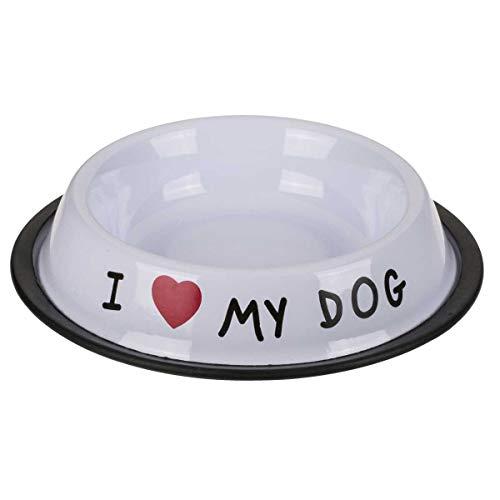 ootb Edelstahl Futternapf I Love My Dog