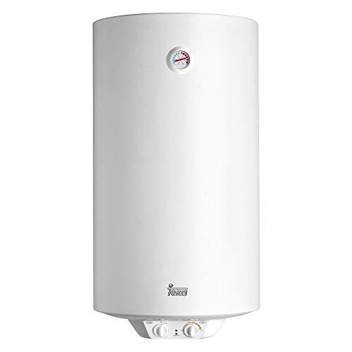 Teka 42080100 Termo Eléctrico | 1500 W | 100 L | Blanco | Clase de eficiencia energética C | Modelo Ewh100 | Tanque esmaltado | Temperatura 30-75º, Cerámica
