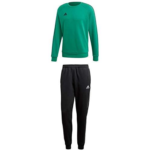 adidas Herren Sweatanzug Core 18 Bold Green M