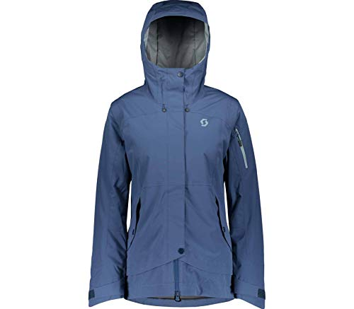 Scott W Ultimate Dryo 40 Jacket Blau, Damen Freizeitjacke, Größe S - Farbe Denim Blue