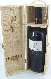 Indio Montepulciano d`Abruzzo DOC Methusalem 6 l, Cantine Bove, trockener Rotwein aus Abruzzen