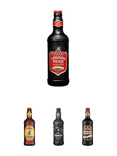 Fuller`s London Pride Bier 0,5 Liter + Fuller's London Honey Dew Bier 0,5 Liter + Fuller's London Black Cab Stout Bier 0,5 Liter + Fuller`s London Porter Bier 0,5 Liter