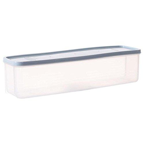 LAAT Bento Lunch Box Kühlbox Lebensmittel Aufbewahrungsboxen Kunststoff Deckel Box (Blau)
