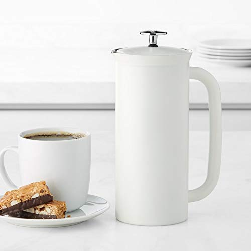 Discover Bargain Espro P7 French Press, 32 Ounce, Matte White (1032C2)