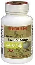 Mushroom Wisdom Super Lion's Mane - 120 Vegetable Tablets by Mushroom Wisdom