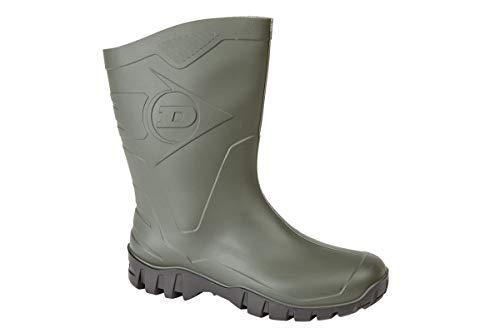 Dunlop Bottes en Caoutchouc Homme - Vert Pvc- 40_EU