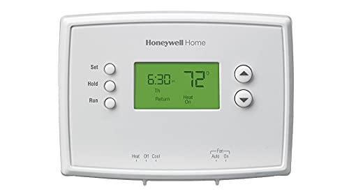 Honeywell Home 5-2 Day Programmable Thermostat, White RTH2300B1038 @Amazon $16.68