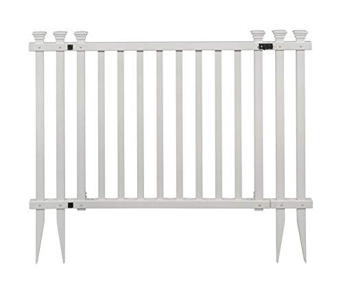 Zippity Outdoor Products ZP19038 Baskenridge Fence Gate, White