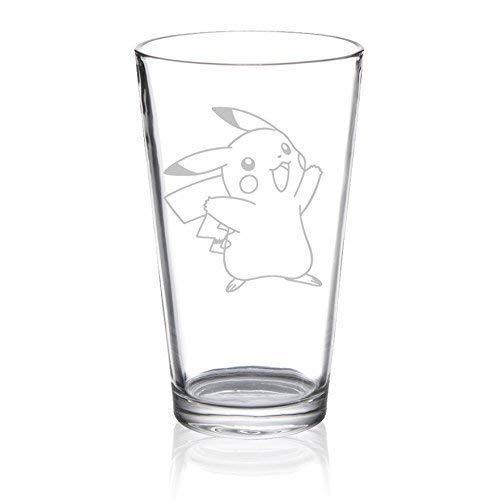 Pikachu - Etched Pint Glass