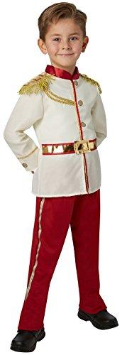 Rubie 's Offizielles Disney Prince Charming Jungen Kostüm–Medium