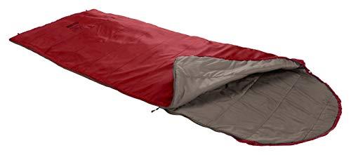 Sacco a pelo Grand Canyon KAYENTA 190 - Sacco a pelo Premium per campeggio all\'aperto - Limite 13° - Dalia Rossa
