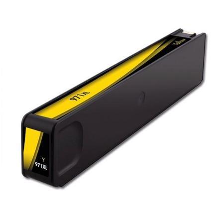 TONERPACK 971XL V4/V5 Amarillo Cartucho de Tinta Pigmentada Generico para HP - Reemplaza CN628AE/CN624AE