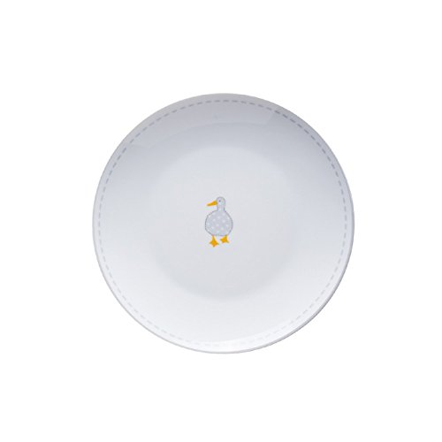 Price & Kensington Madison Coupe en Porcelaine Fine Assiette 21 cm, Blanc