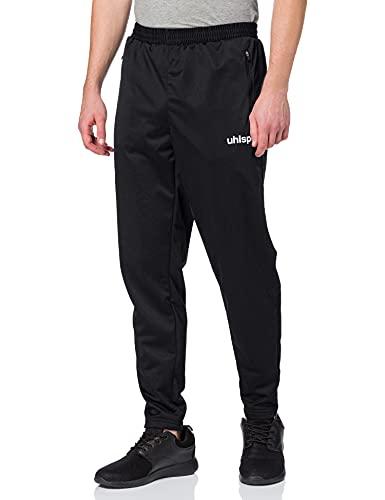 uhlsport Classic Pantalon Mixte, Noir/Blanc, FR (Taille Fabricant : XS)