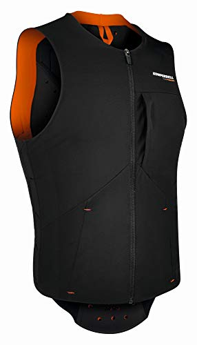 Komperdell Pro Weste Black/orange Größe M 2020 Protektor