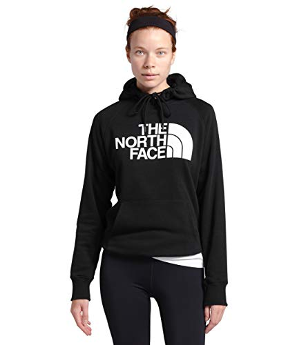 The North Face Women's Half Dome Pullover Hoodie, TNF Black, M