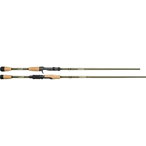 St. Croix ECS68MXF Eyecon Graphite Spinning Fishing Rod with Split-Grip Cork Handle, 6-feet 8-inches