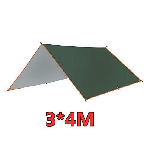 4x3m / 3x3m Sonnenschutz Segel Baldachin Quadrat Wasserdicht Anti-UV Baldachin Markise Sonnenschutz für Patio Garden Swimming Pool(3m x 3m)