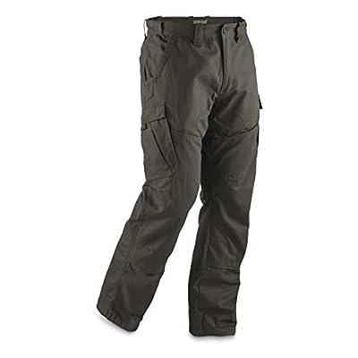 Guide Gear Men's Ripstop Cargo Work Pants, Graphite Gray, W36 L32