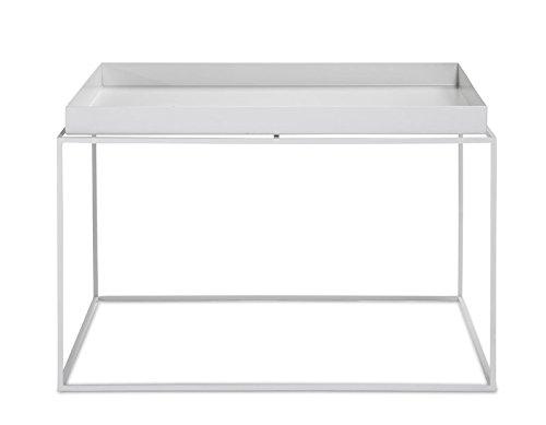 HAY - Tray Table - weiß - 60 x 39 x 60 cm - Design - Beistelltisch - Couchtisch - Sofatisch