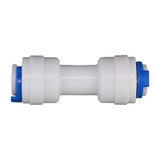 PVC Rohr 10pcs RO-Wasser-System Equal Gerade 1/4' 3/8' Kupplung Schlauchanschluss...