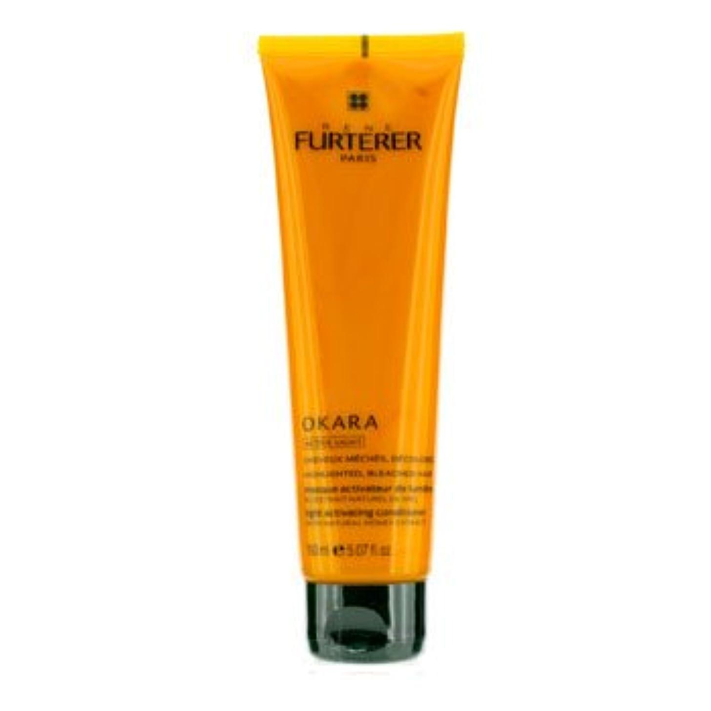 判読できない定常サロン[Rene Furterer] Okara Light Activating Conditioner (For Highlighted Bleached Hair) 150ml/5.07oz
