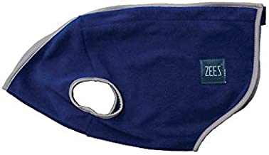 ZEEZ Cozy Fleece Dog Vest M1 (28cm), Oxford Navy