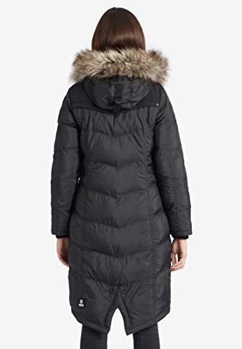 Streetwear khujo Lubek Long 3 Frauen Wintermantel schwarz Basics Casual Wear