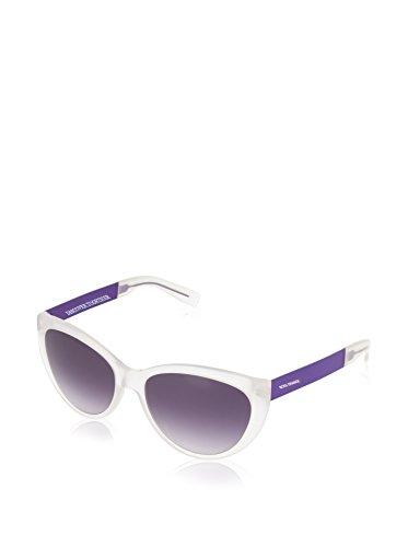 BOSS ORANGE BO-0214-S-FJV-DG-55-17-140 Hugo Orange Sonnenbrille BO-0214-S-FJV-DG-55-17-140 Cateye Sonnenbrille 55, Weiß