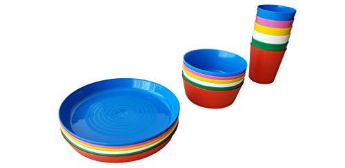 IKEA KALAS Schüssel, Becher und Teller für Kinder, 6 Stück