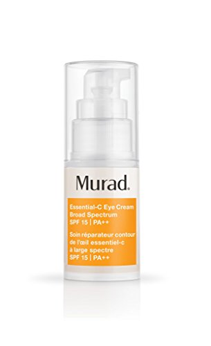 Murad Environmental Shield Essential-C Eye Cream SPF 15, Step 3 Hydrate/Protect, 0.5 fl oz (15 ml)
