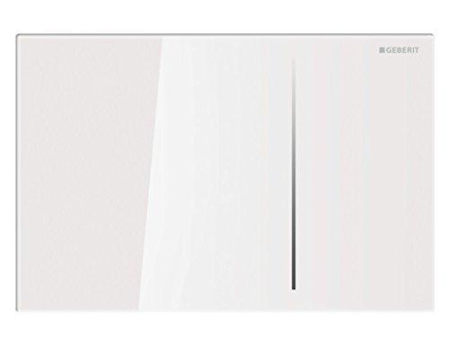 Geberit 115.625.SI.1 - Placca Sigma 70 vetro bianco