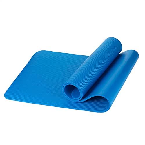 Abilieauty Thicken - Esterilla de yoga antideslizante para fitness, pilates, ejercicio con correa de malla de 10 mm, alfombrilla de yoga antideslizante con correa para esterilla de yoga