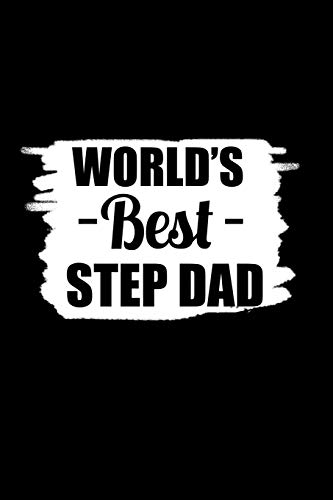 World's Best Step Dad: Notebook Journal Diary 110 Lined pages