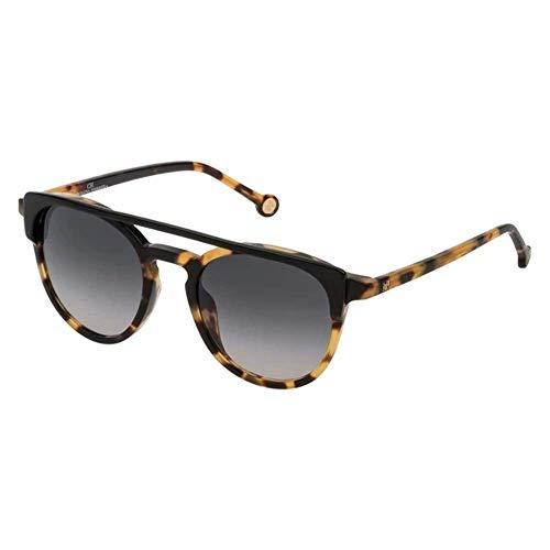 Carolina Herrera SHE790510APK Gafas, BLACK/SHINY HINEY HAVANA, 51/21/135 para Mujer