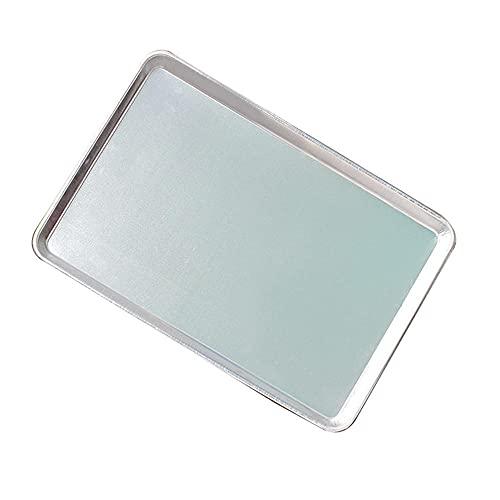 JINYONGFA Bandeja para Hornear de Aluminio/Rectangular/Pastel Placa de Hornear / 60 * 40 * 3CM1.2 KG Horno Tray para Hornear Especial 1.2 Grueso 60 * 40 * 4.8cm1.23kg-60 * 40 * 4.8cm1.2mm de Espesor