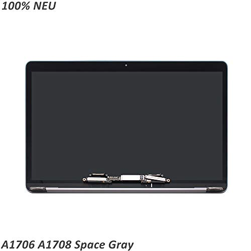 FTDLCD® 13,3 inch LCD-scherm compleet display Assembly voor Apple MacBook Pro Retina 13 A1706 EMC 3163 A1708 EMC 2978 3164 (Space Gray)