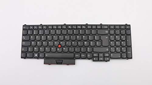 TellusRem ersatztastatur Belgier Hintergr&beleuchtung für Lenovo Thinkpad P50 P70