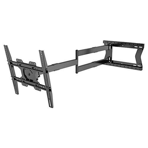 XTRARM Soporte de Pared para televisor - a VESA 400 x 400 mm, Totalmente móvil / Giratorio / Giratorio / inclinable (Distancia 120 cm / 40 kg, Negro)